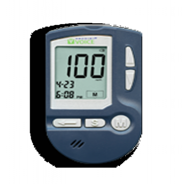 - Glucometer الذي يعطى دقة قياس عالية في التمييز بين جلوكوز الدم...