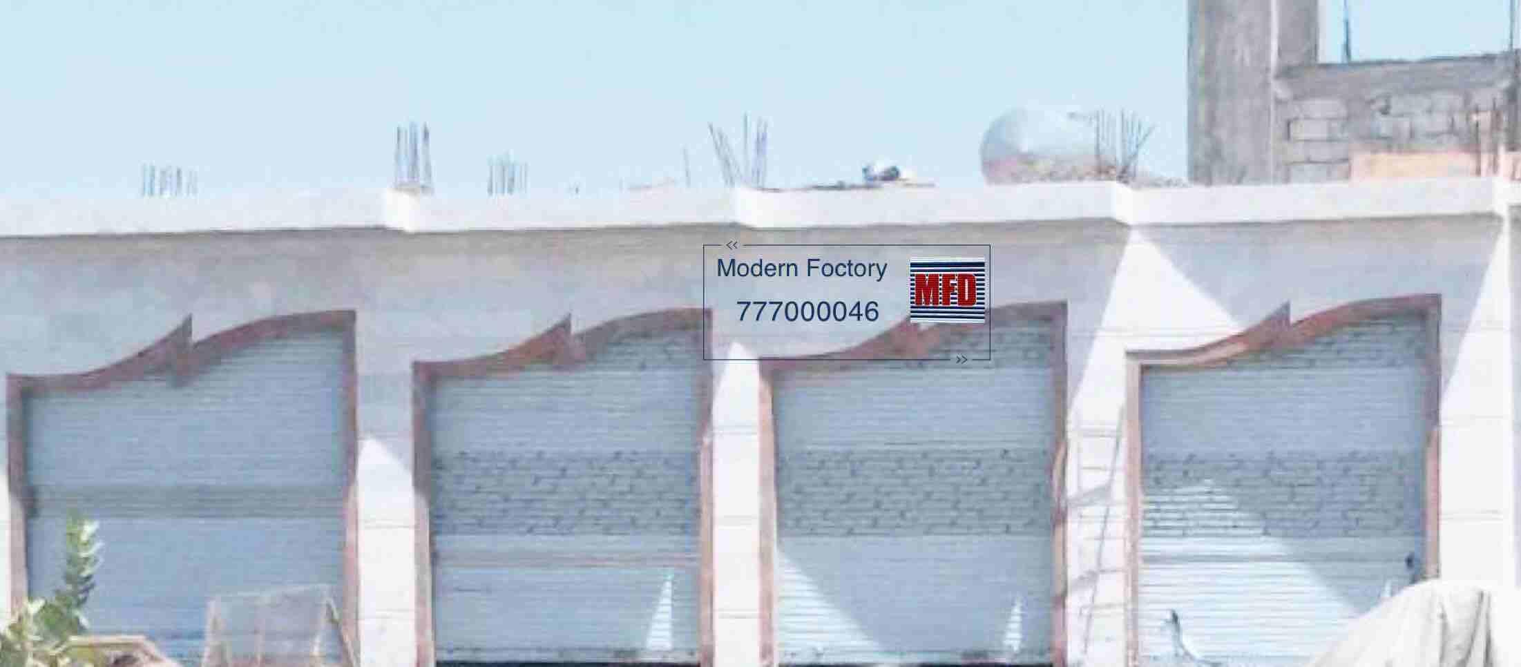 ابواب سحاب المصنع الحديث
