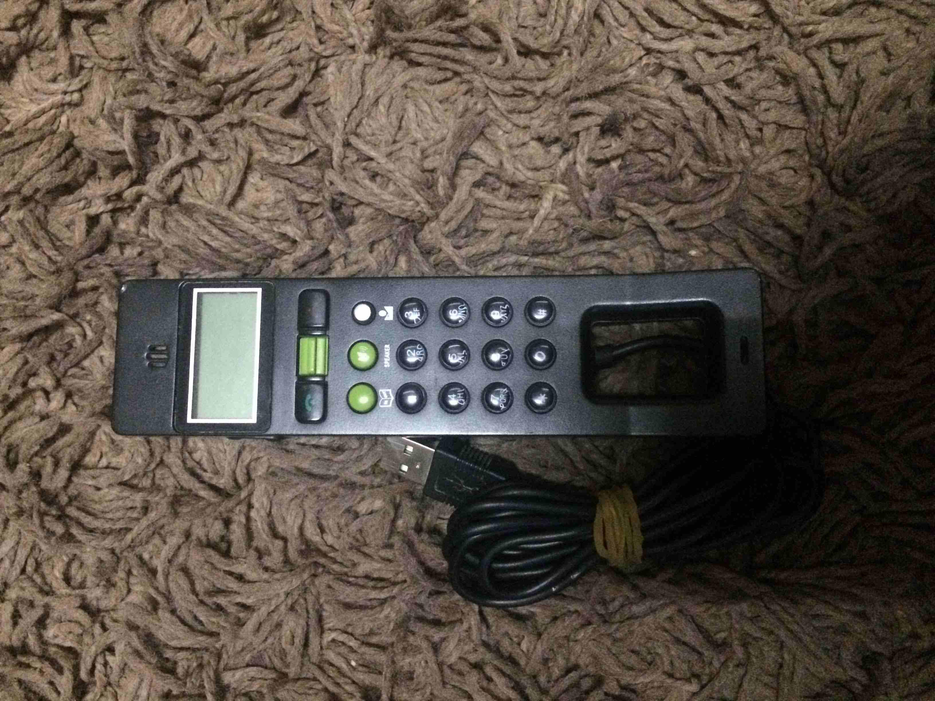 هاتف usb خاص لبرامج الأتصال على الكمبيوتر والاب توب متوافق مع تطبيق...