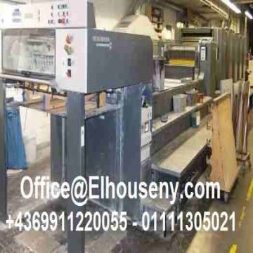 - ماكينة طباعة هايدلبرج سبيد ماستر 5 لون مقاس فرخ 102  5 ألوان 72...