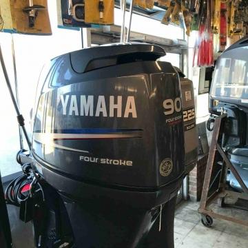 - 2012 Yamaha 90HP 4-Stroke Outboard - Bolt & Go - 74 Hours...