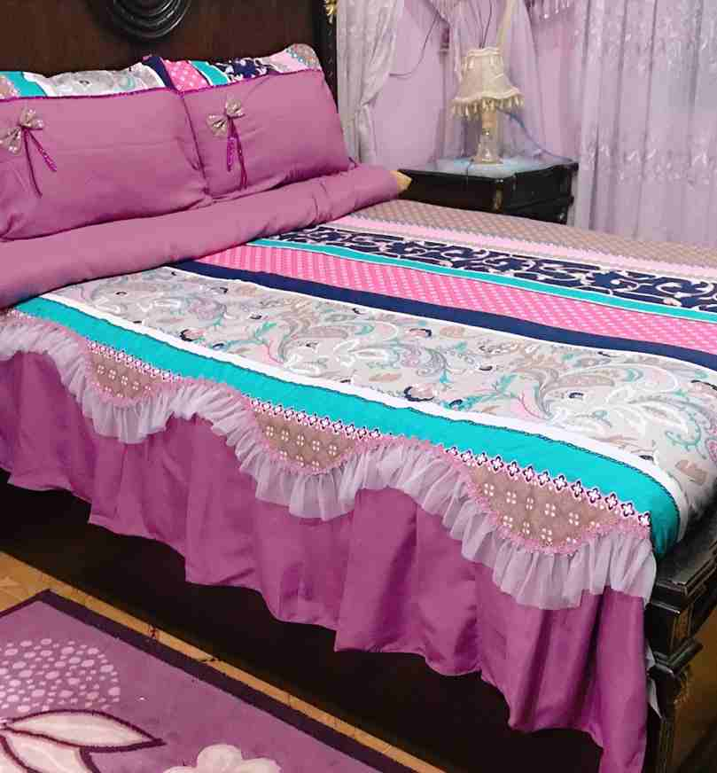 طقم سرير تركى لسرير عرض 160...