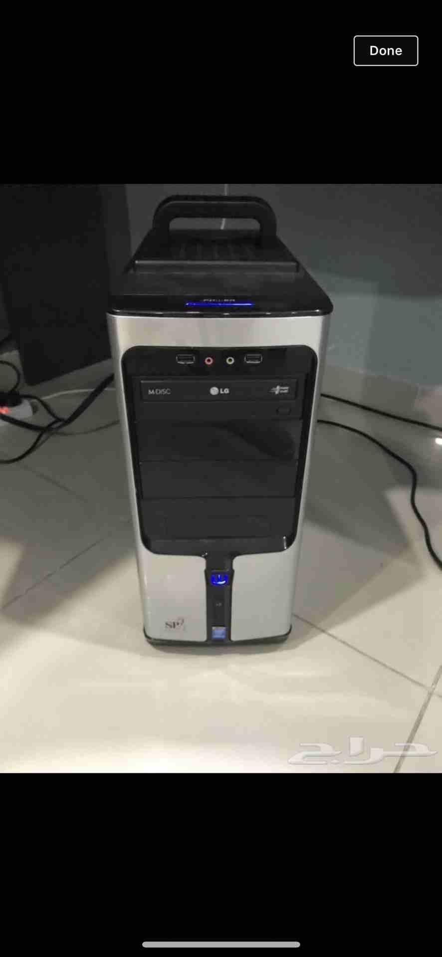 كمبيوتر مكتبي للبيع...