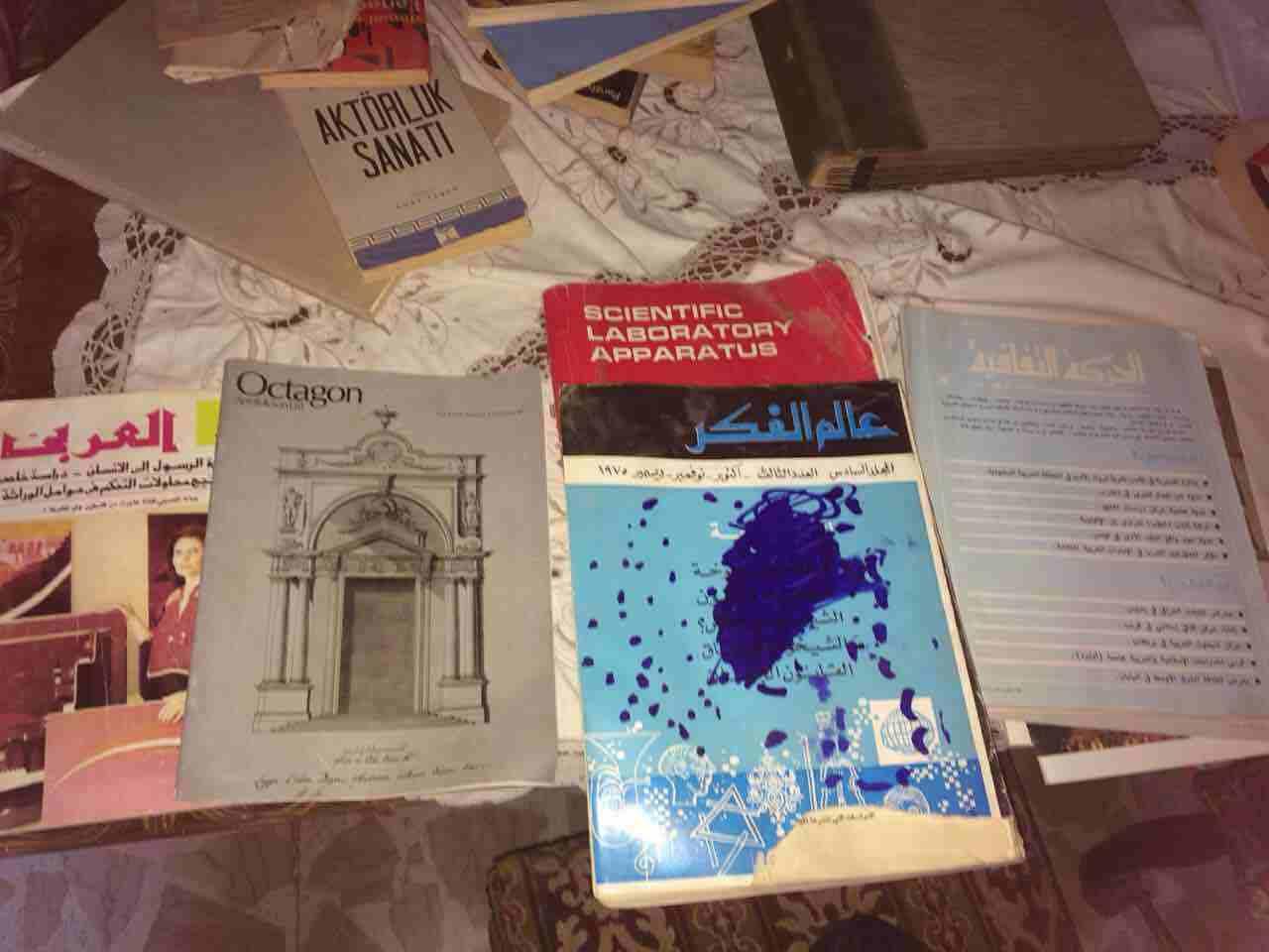 مجموعة كتب قديمة ونادرة. ٩٦١٠٣٠١٢١٠٠