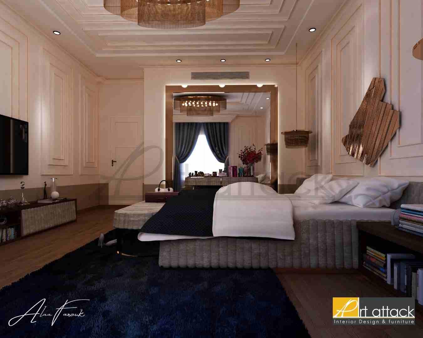 تصميم غرفة نومك مع ارت اتاك...