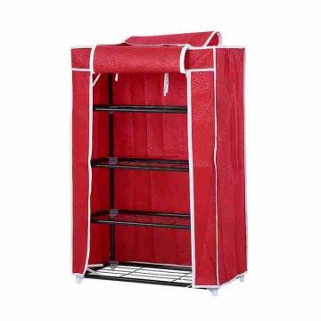 - خزانة الأحذية المصنوعة من القماش والحديد المكون من 4 طبقات ....