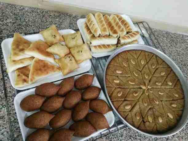 مطبخ شهد العسل  مختصين بالأكلات السورية . كبة . برك . حراق اصبعو ....
