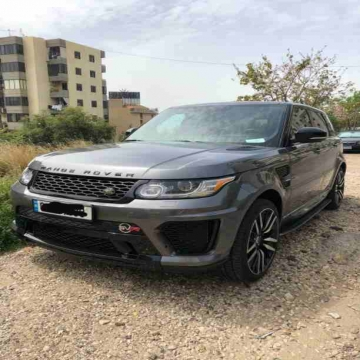 - Range Rover Super Charge. Silver. Model 2014. Used only 42000...