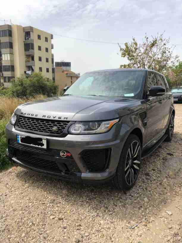 Range Rover Super Charge. Silver. Model 2014. Used only 42000...