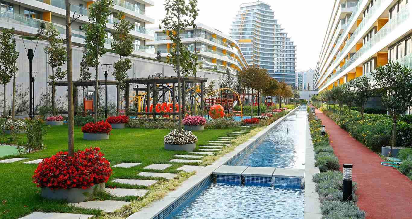 نبذة عن المشروع..  يقع المشروع في منطقة باغجيلار بااسطنبول الاوربية...