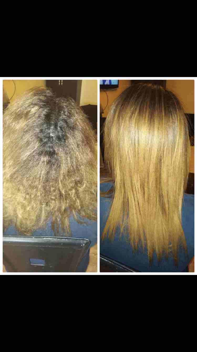 Botox 3d plus مادة معالجة ومغذية وتفرد الشعر  نتائجها مضمونة...