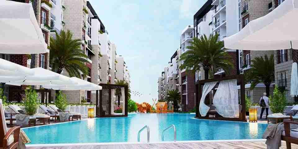 شقة 146م في كمبوند سواينو العاصمة الادارية الجديدة بأقل سعر للمتر...
