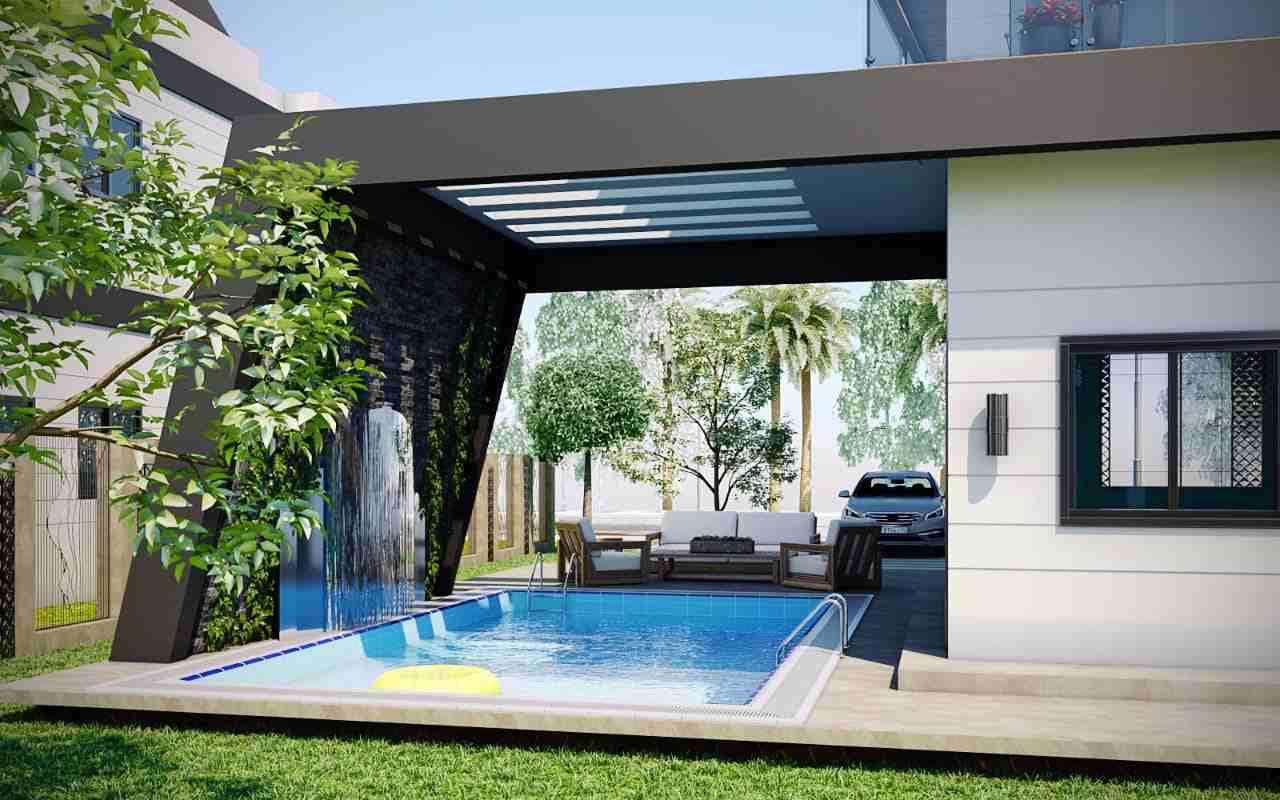 احجز شقتك في مشروع city one مساحة 95 متر (غرفتين-حمام-...