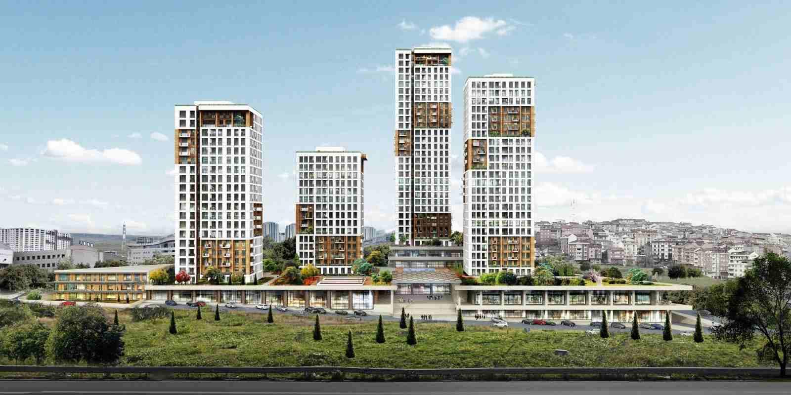يقع المشروع على مساحة 26.000 متر مربع.   مشروع سكني على اعلى...