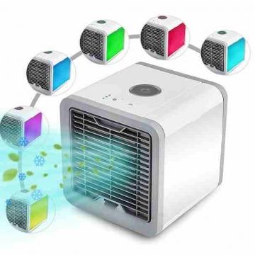 - مكيف الهواء الصغير المتنقل مكيف ماء يعمل  كيبل USB  او مباشرة...
