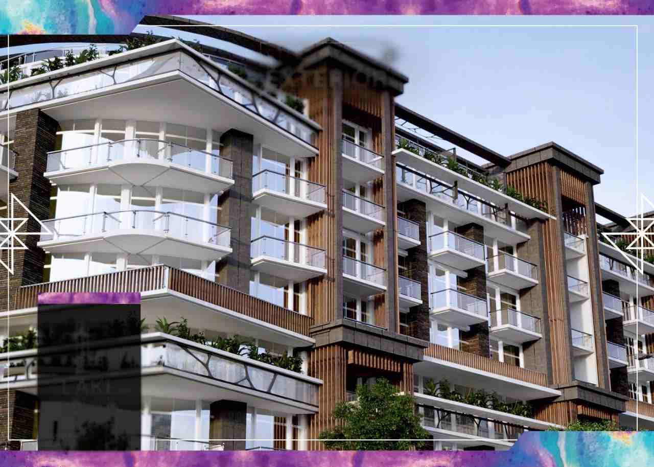 شقة مساحة 71 متر للبيع في مشروع Lake studios في العاصمة الإدارية...