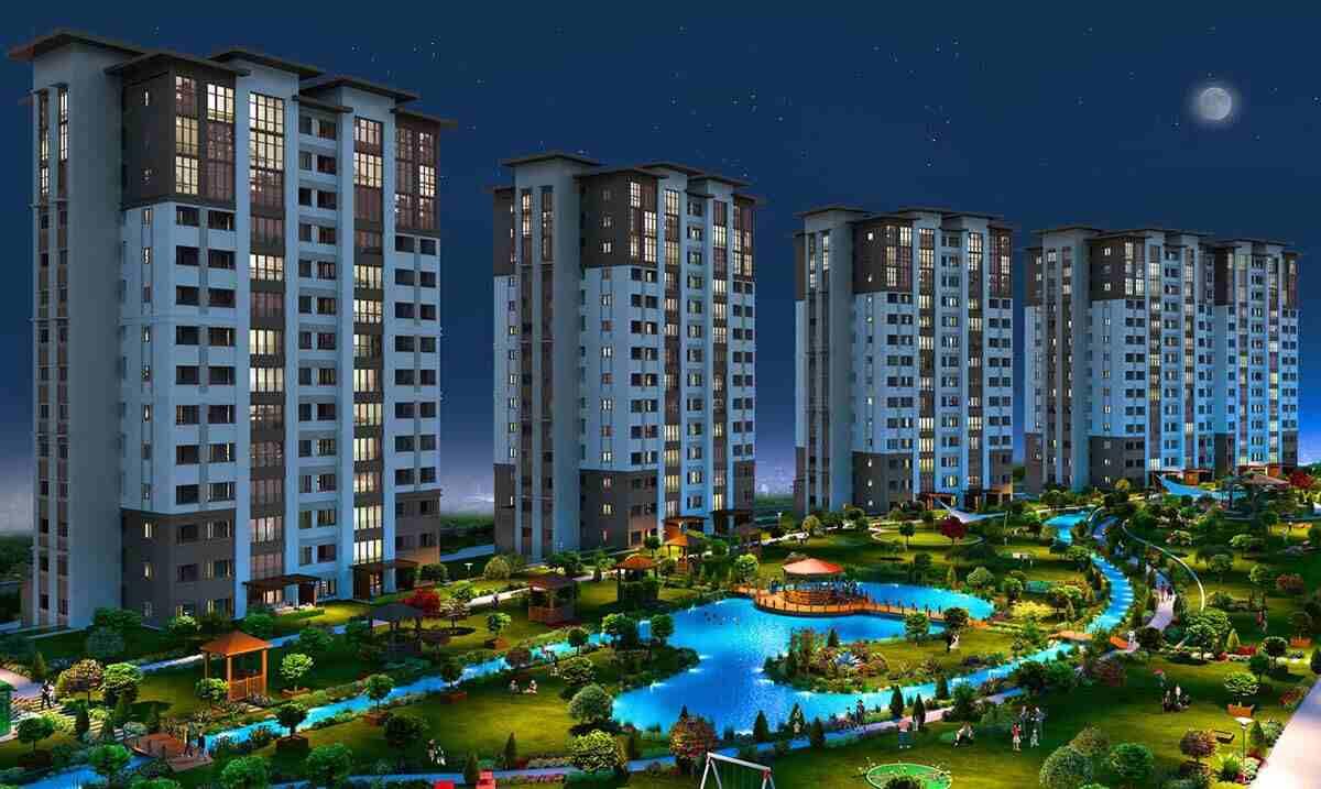 احجز الآن السكن الفخم بمجمع سكني به كافة الخدمات-  يتم بناء المشروع في 12...
