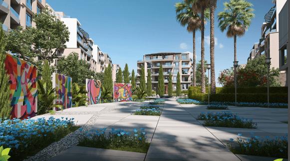 مشروع سمانا جولف-  شقة فى جرين افينيو...