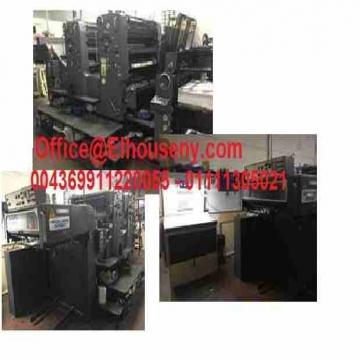 - ماكينة طباعة هايدلبرج سبيد ماستر 2 لون مقاس الفرخ  HEIDELBERG SM...