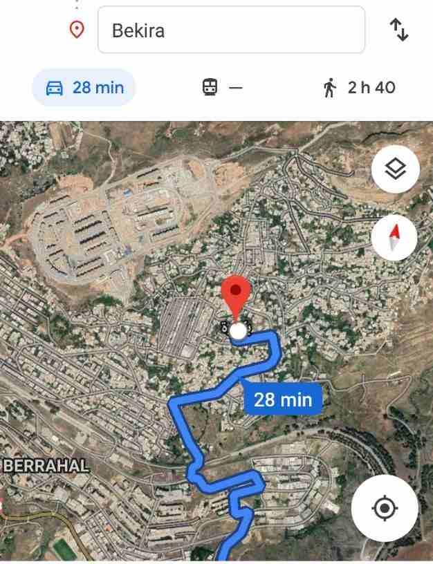أرض للبيع جزائر(قسنطينة) حي بكيرة السفلى تبلغ مساحتها 272متر مربع...