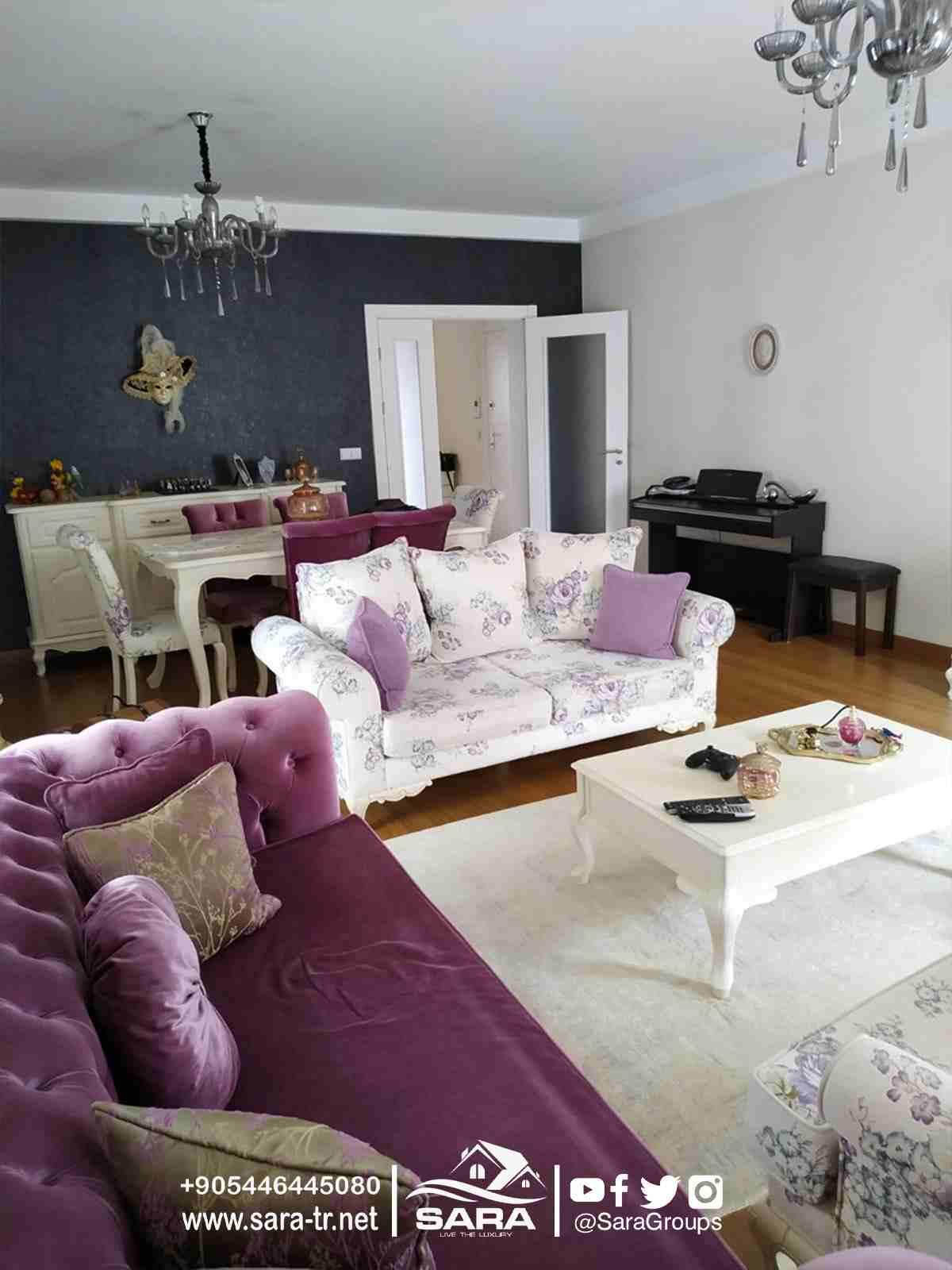 ----- اعلان 1487 ------ #شقة_للبيع_في_اسطنبول 3غرف وصالون...