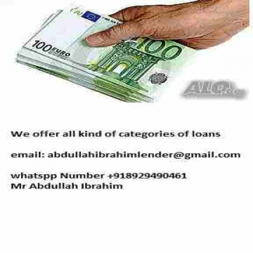 - LOAN OFFER TO ALL PEOPLE SEEKING FOR URGENT LOAN Do you need an...