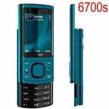 - Nokia 6700s blue  جديد زيرو متحطش فيه شريحه  بالبطاريه والشاحن...