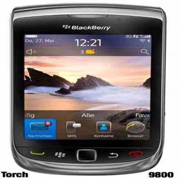 - بلاك بيري تورش ٩٨٠٠ Blackberry torch 9800 الجهاز بعلبته وجميع...