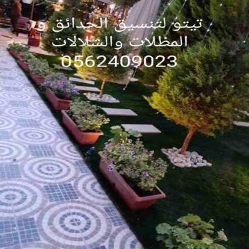 نباتات , - اعلن مجاناً في منصة وموقع عنكبوت للاعلانات المجانية المبوبة- - تيتو لتنسيق الحدائق و المظلات والشلالات 0562409023