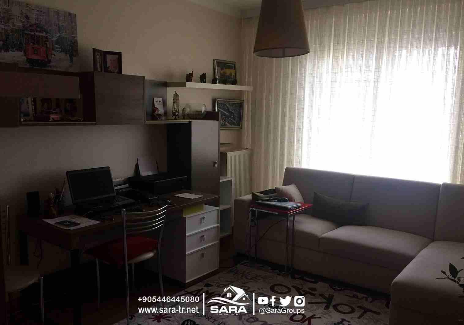 #شقة_للبيع_في مجمع آغا أوغلو  في باشاك شهير اسطنبول 2+1  ● تعتبر...