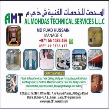 - AMTS LLC  GENERAL MAINTENANCE  1-Handyman Services (Carpenter,...