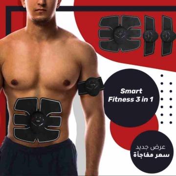 - يستخدم الجهاز الاحترافي تقنية ( تحفيز العضلات كهربائيا ) للتعاقد...