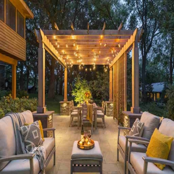 KCJ Landscaping is a leading pergola design company in Dubai. A pergola can elevate the look and feel of your garden to another level. It is an element that can- - KCJ Landscaping is a leading pergola design company in Dubai. A...