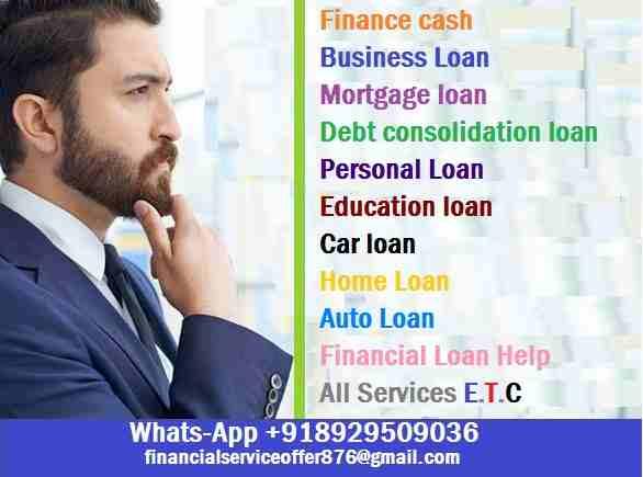 ها هي فرصتك للتقدم بطلب للحصول على قرض شخصي ، قرض استثماري ، قروض أعمال ، قرض عقاري / رهن �-  Do you need Finance? Are...