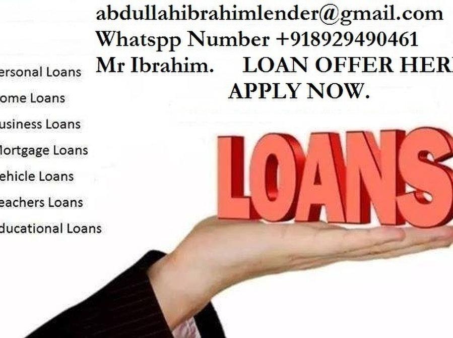هل تبحث عن تمويل الأعمال ، والتمويل الشخصي ، والقروض العقارية ، وقروض السيارات ، ونقد ال-  Guaranteed loan offer...