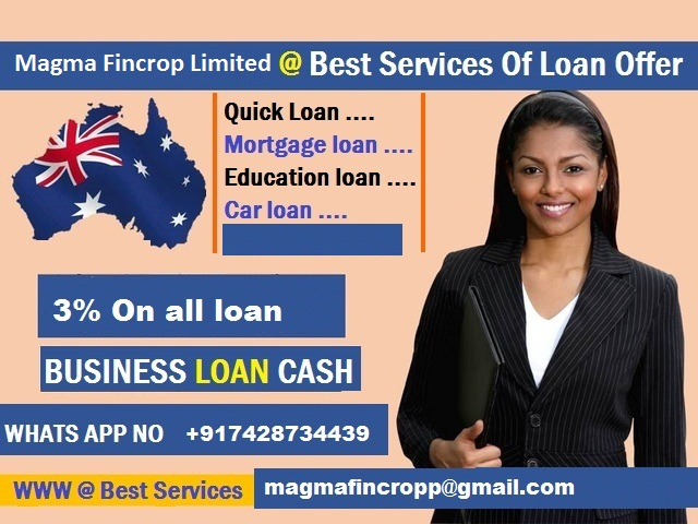 Are you looking for a loan to clear off your dept and start up your own Business? have you being going all over yet not able to get a legit loan Company that wi-  Do you need a quick long...