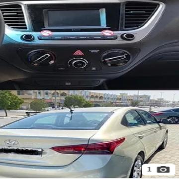 Hyundai Accent 2020 For Rent / للإيجار- - Cheapest car Rental