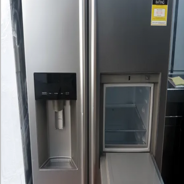 lg latest model fridge with 2doors side by side with water dispenser- - Perfect condition proper working neat and clean inside and...