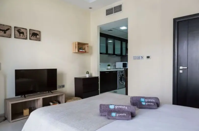 CHILLER FREE I BRAND NEW FURNISHED STUDIO I NEXT TO METRO STATION I MONTHLY PAYMENT-  A fully furnished cozy...