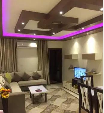 Fully Furnished 1 bed Apartment on 36th floor   Near Marina Walk-  بأرقي مدن القاهرة الجديدة...