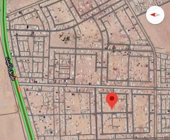 ارض سكنية بالمنامة 450 متر زاوية شارعين فقط 90 الف درهم-  ارض بصك الكتروني...