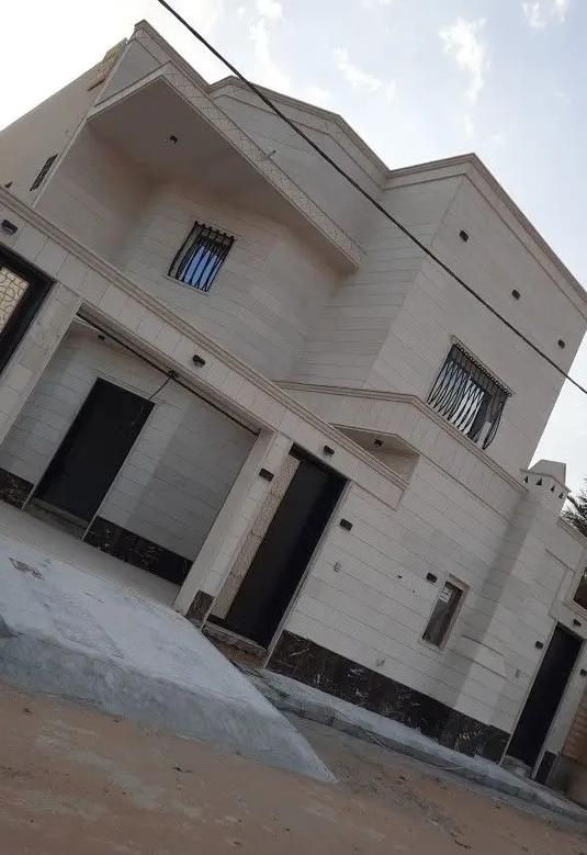 للبيع فيلا جديده بالمنامه عجمان قريب الخدمات ( M 04 )QR-  للبيع فلة بحي السلمان...