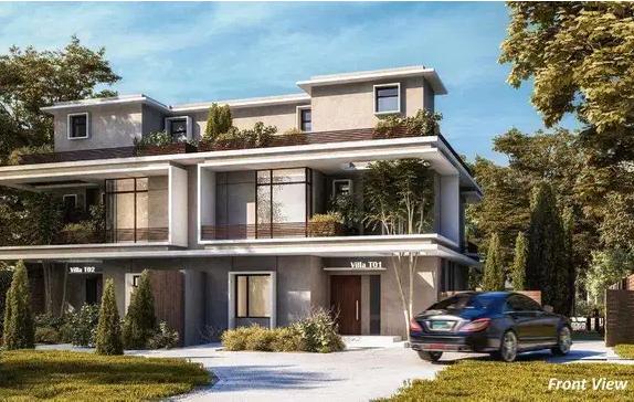 فيلا سكنية في إمارة عجمان منطقة مصفوت (K B H ) QR-  كمبوند البوسكو IL Bosco...