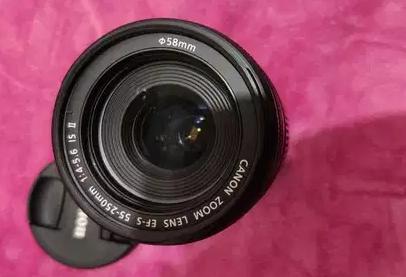 باكدج متكامل بسعر خرافي كاميرا كانون دى 350 (canon D350 )صناعه يابانى (made in Japan)تصوير احترافي كا�-  Canon lens 55:250 mm good...