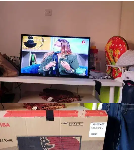 Samsung tv for sale perfect condition-  توشيبا نظيف جدا