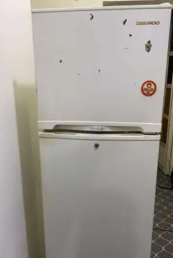 Hitachi latest model fridge with 2 doors up and down-  Good condition
