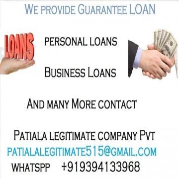 اعلانات - Patiala Legitimate- - Are you in need of Urgent Loan Here no collateral required all...